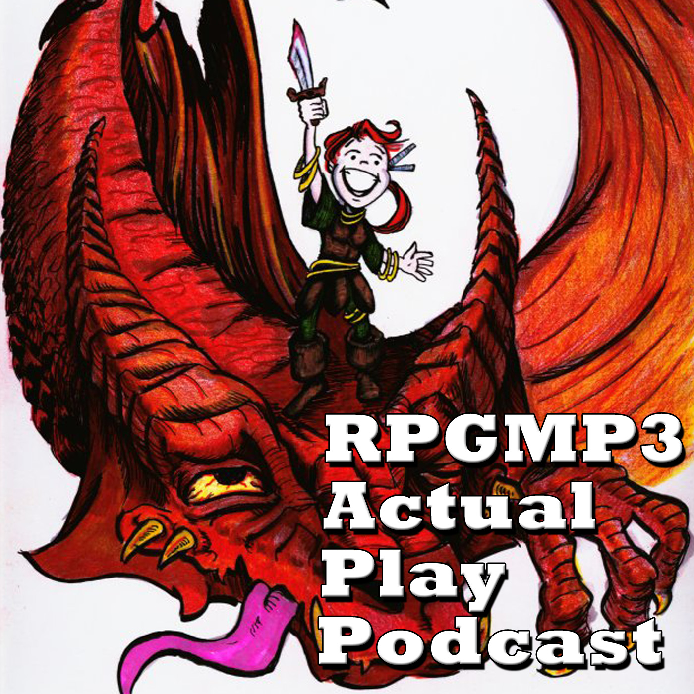 RPGMP3 Actual Play Podcast logo