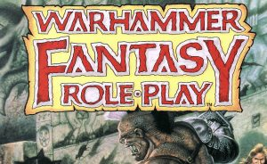 Warhammer Fantasy Roleplay 1st Edition Cover