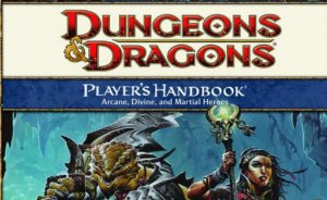 Dungeons and Dragons 4th Edition Cover