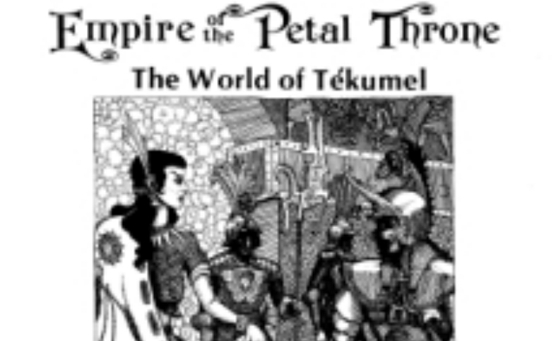 Empire of the Petal Throne: In Ka'dái Gully 02