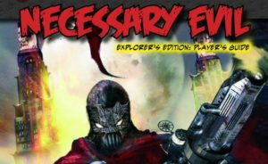 Savage Worlds: Necessary Evil Cover