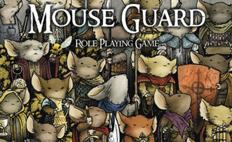 Mouse Guard Session 01