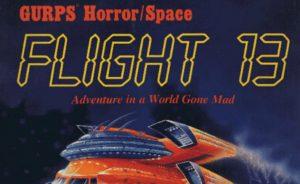 GURPS: Flight 13 Cover