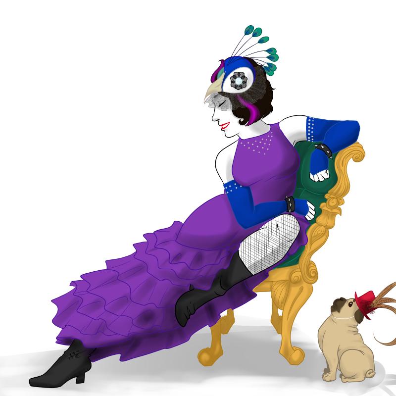 Violet Peacock - Get Well Soon