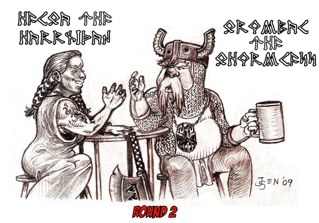 Helga vs Grumbal