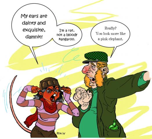 Runepunk: Mouse Sprocket