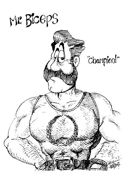 Mr Biceps