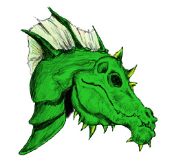 Green Dragon Helm