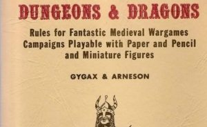 Original Dungeons and Dragons Cover