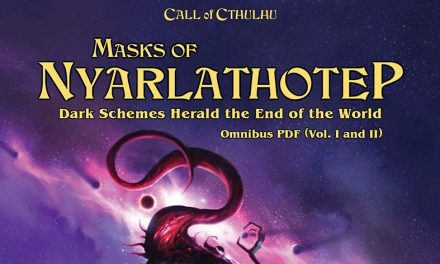 Masks of Nyarlathotep Session 001